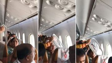 Freak turbulence causes window to 'pop out' mid-flight