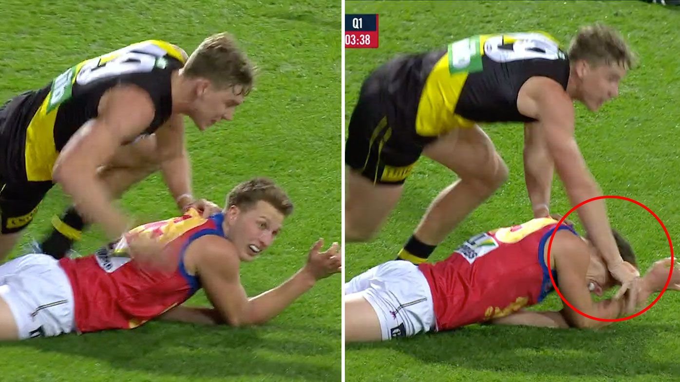 Tigers star Tom Lynch under fire for ugly incident in Lions clash