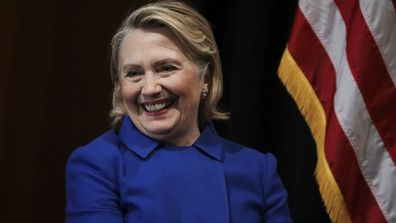 """Hillary Clinton is """"leaving the doors open"""" for a 2020 presidential run."""