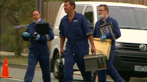 Forensic teams have visited the motel today. (9NEWS)