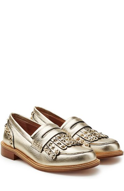 "Red Valentino metallic loafer, $659 at <a href=""http://www.stylebop.com/au/product_details.php?id=716779"" target=""_blank"">Stylebop.com</a><br>"