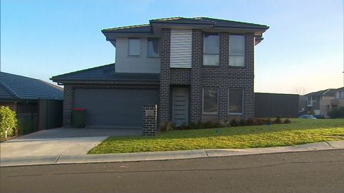The Schofields rental house where an illegal party was held at the weekend, prompting $60,000 in coronavirus fines.