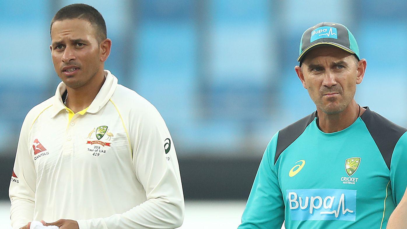 Usman Khawaja angry at Australian team 'stabbing Justin Langer in the back'