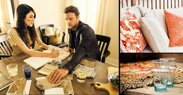 Justin Timberlake launches homewares line