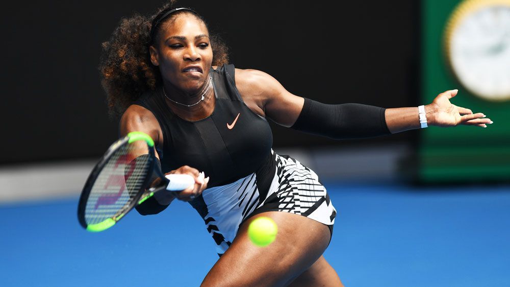 Serena cruises to Australian Open last 16