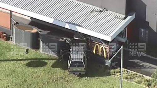 Elderly man hospitalised after car crashes at McDonald's Clayton South in Melbourne