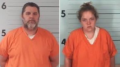 The couple is being accused of staging the robbery at Carswell's place of work.
