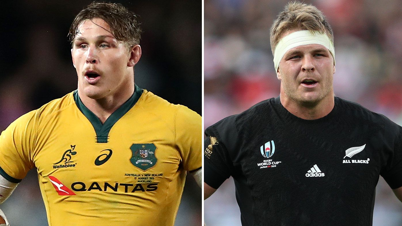 Sam Cane, Michael Hooper