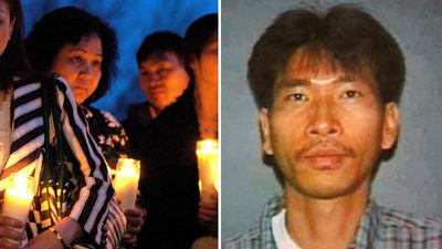 <p><strong>Binghampton shooting, 2009 – 13 killed, 4 injured</strong></p> <p>On April 3, 2009, naturalised American citizen from Vietnam, Jiverly Antares Wong, entered the American Civic Association Immigration Center in Binghamton, New York, wearing a bullet proof vest and opened fire. He barricaded the back door of the building with a car before beginning to shoot. Wong shot himself when he heard police sirens approach the property. (AAP)</p>