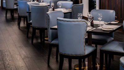 <strong>Bistro Guillaume Sydney dining room setting </strong>