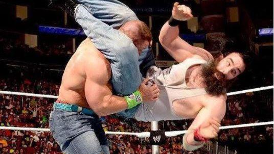 John Cena and Brodie Lee
