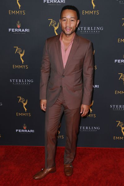 John Legend attends the Television Academy Honors Emmy Nominated Producers event in Beverly Hills. Legend is nominated for the 'Lead Actor in a Limited Series or Movie' award for his role in <em>Jesus Christ Superstar.</em><br> <br>