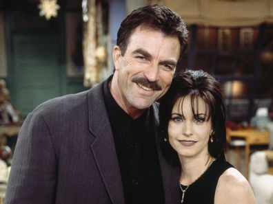 Courteney Cox and Tom Selleck