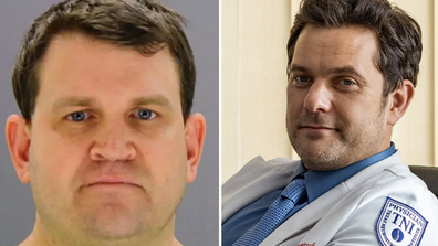 The real Christopher Duntsch (left) operated on 37 patients in the Dallas-Fort Worth area in Texas. Two patients were killed and many more were maimed