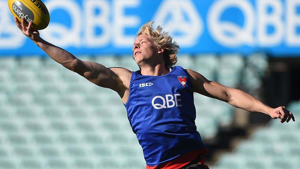 Swans star Isaac Heeney is a graduate of the Sydney academy. (AAP)