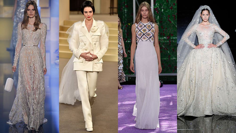 The bride wore couture: wedding inspiration from the Haute Couture Fall 2015 runway