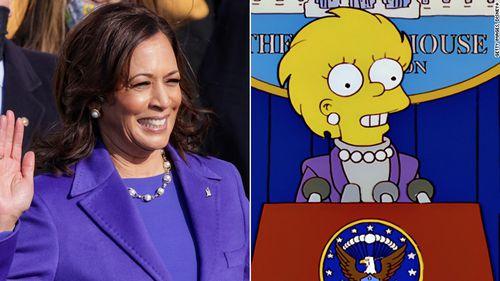 The Simpsons do it again with Kamala Harris inauguration 'prediction'