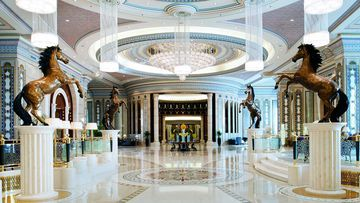 A lobby in the Ritz-Carlton in Riyadh. (Ritz-Carlton)