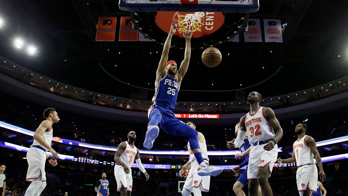 'I was pissed off': 'Bully' Ben Simmons unsatisfied in triple-double charge over New York Knicks