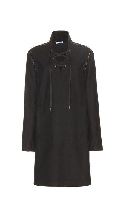 "<a href=""http://www.mytheresa.com/en-au/embellished-cotton-dress-445214.html"" target=""_blank"">Dress, $899, Tomas Maier at My Theresa</a>"