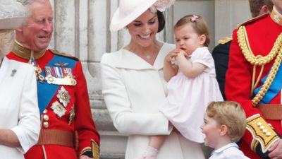 Prince George and Princess Charlotte's cheeky antics at Highgrove revealed, July 2018