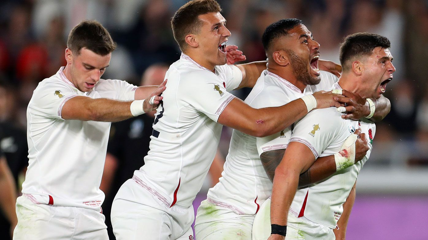 England down All Blacks in RWC