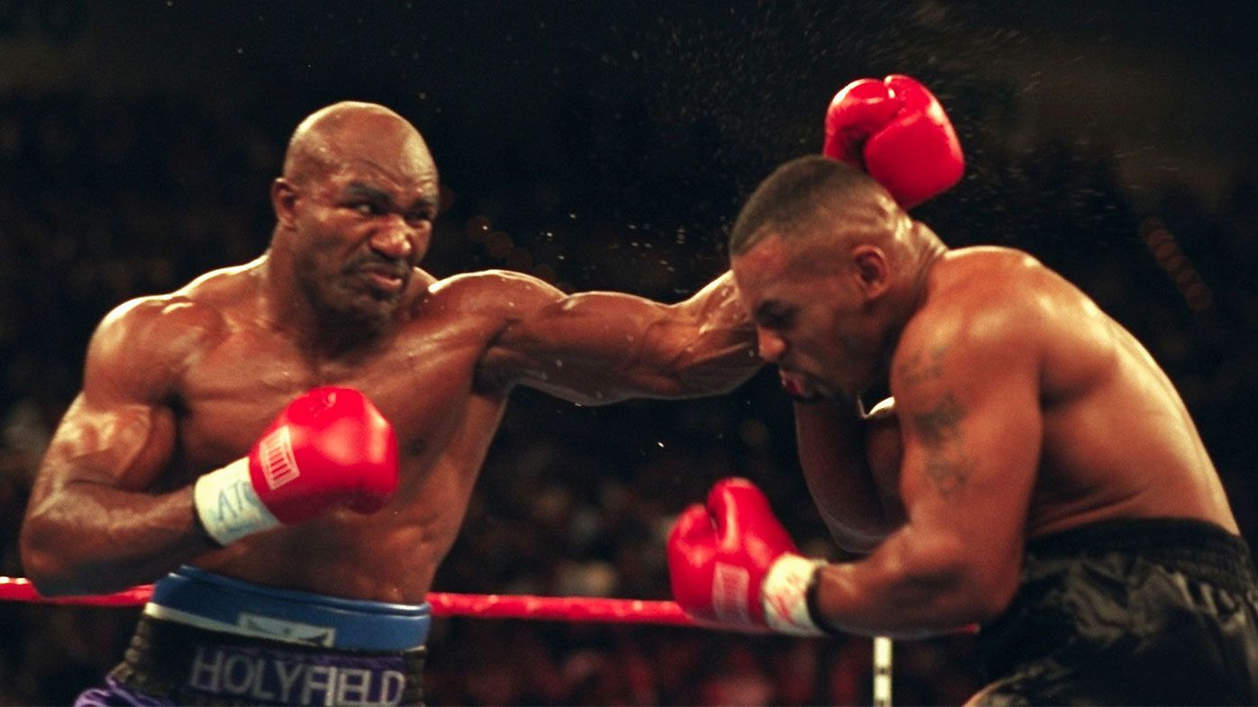 Evander Holyfield open to Mike Tyson fight, but there's a catch