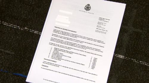 The FOI officer at Victoria Police denied 9NEWS access to the documents on the grounds it was not in the public interest. (9NEWS)