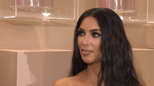 Kim Kardashian told Today's Sam Rubin that securing the release of a grandmother from custody had given her a new perspective on life. Picture: 9News