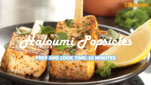 Will + Steve's Haloumi Popsicles