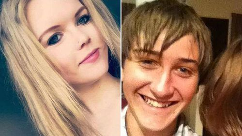 19-year-old Hannah Ferguson and her boyfriend Reagan Skinner were killed in the Newell Highway truck crash (Supplied).