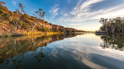 Tourism South Australia Murray River Escapes houseboat