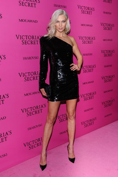 Karlie Kloss at the after party for the 2017 Victoria's Secret Fashion Show in Shanghai, China.