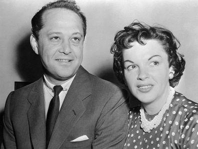 Judy Garland and Sid Luft.