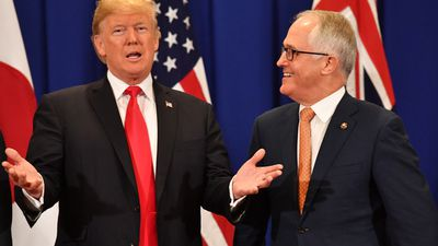 'Mates stick by each other': Turnbull pens op-ed ahead of Trump meeting