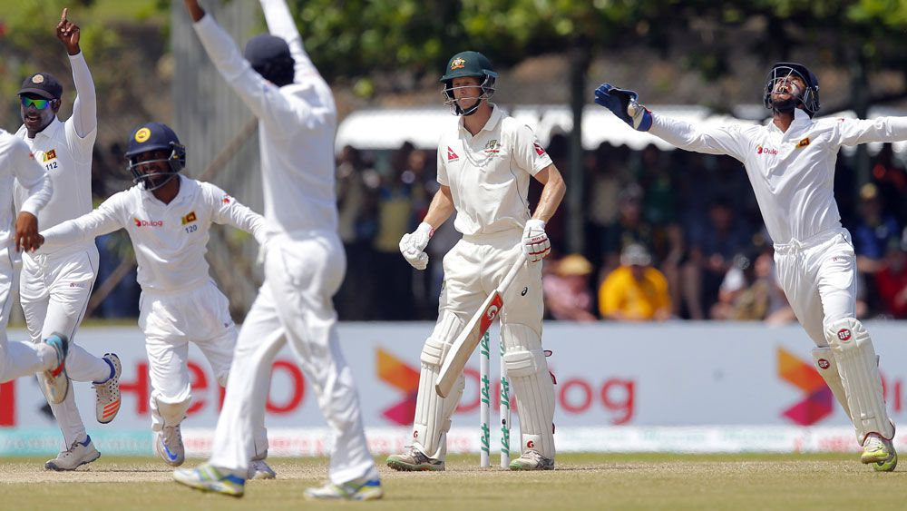 Australia were thumped in the Test series in Sri Lanka. (AAP)