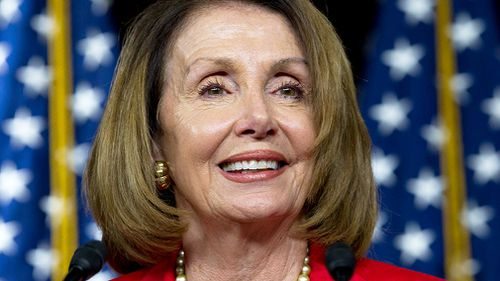"""What now I'm saying is we will win,"" Democratic leader and former speaker Nancy Pelosi said."