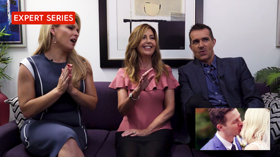 The Experts react to Matthew and Lauren's wedding.