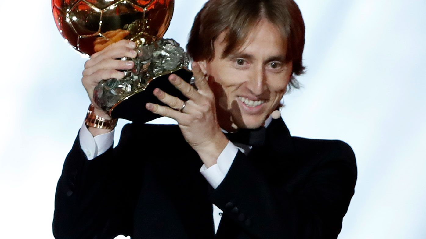 Luka Modric wins Ballon d'Or, ending Messi-Ronaldo dominance