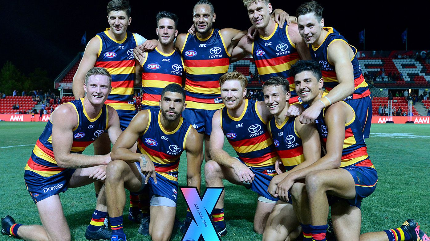 Adelaide Crows win inaugural AFLX grand final