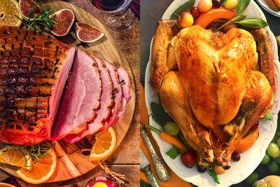 Swap ham for turkey