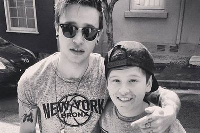 @reecemastinofficial: Met this little rascal today, good kid that's definitely got a good future <br/>