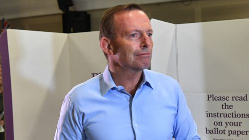 Tony Abbott had held Warringah since 1994.