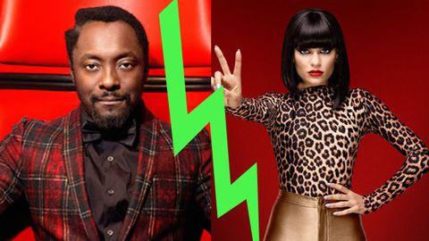 'Aggressive' Will.i.am 'pulled back' after Jessie J <i>Voice</i> spat