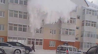 <p>So it turns out you don't have to be on a mountain to fall victim to an avalanche.</p> <p> An unlucky man has been filmed wandering through a carpark only to have a veritable motherload of snow fall on him from the top of a nearby building. </p> <p> After the deluge clears the stunned man, who was clutching a broom, then appears to continue walking as if nothing had happened. The footage, which was filmed in Russia, was captured on a dashcam and uploaded to YouTube yesterday. </p> <p> The man reportedly escaped without any injuries. </p> <p> Check out this gallery for more times the white powdery stuff turned on people. </p> <p> </p>