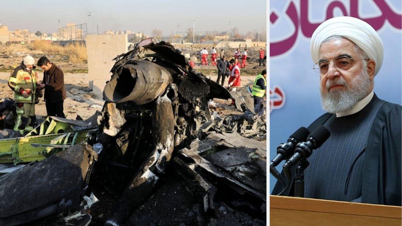 Iran confirms arrests over shootdown of Ukrainian plane that killed 176