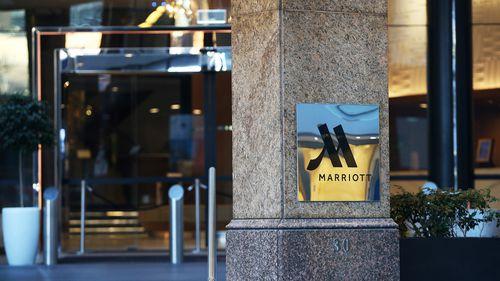 The Sydney Harbour Marriott Hotel.