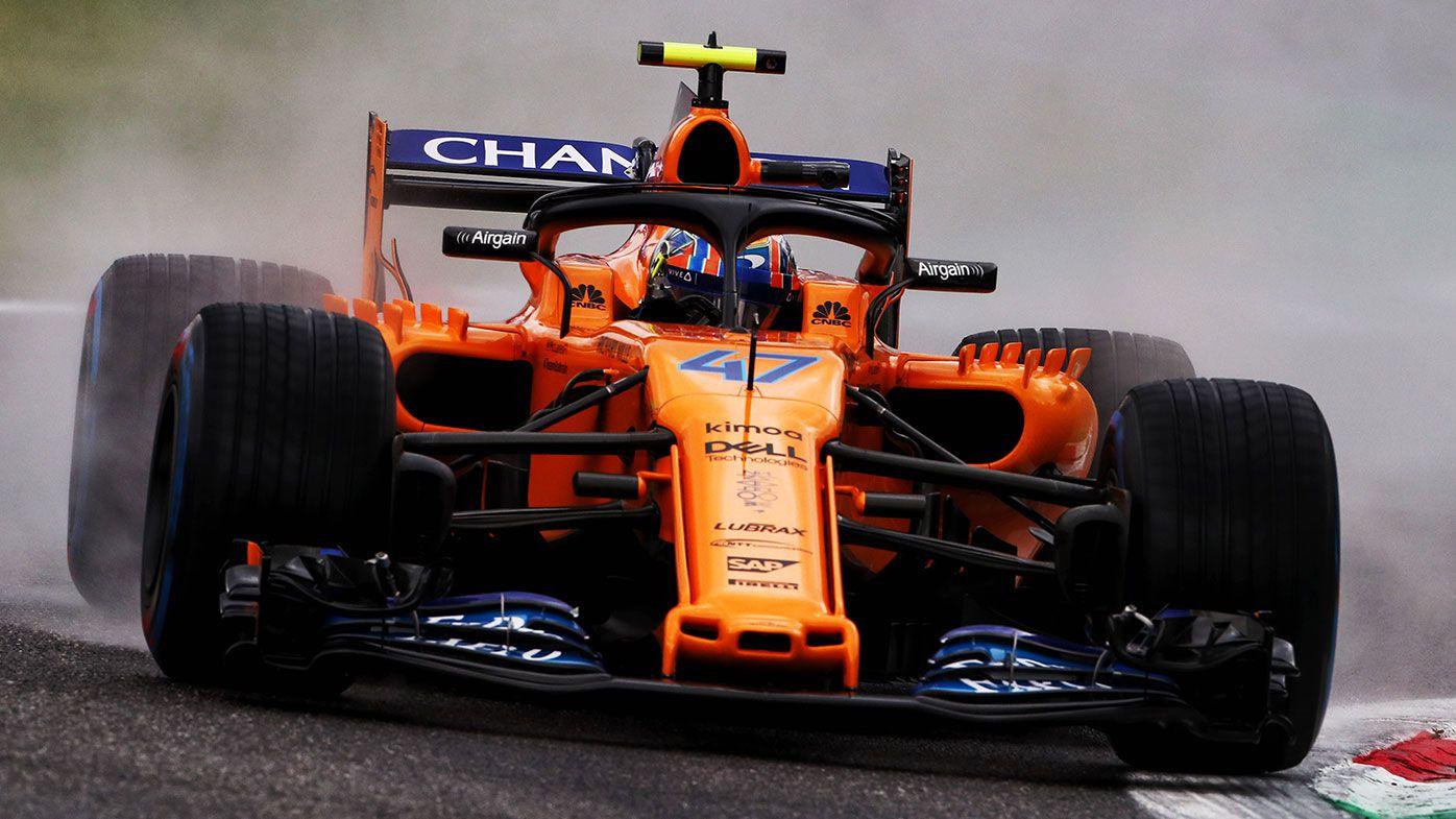 McLaren driver Lando Norris.