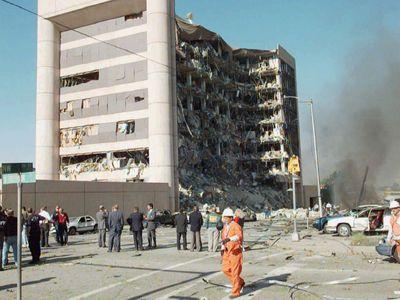 Explosion in Oklahoma City
