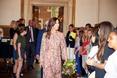 Princess Mary of Denmark wears H&M dress